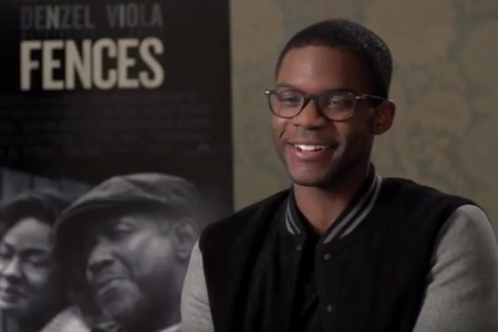 "Interview: Jovan Adepo talks ""Fences"""