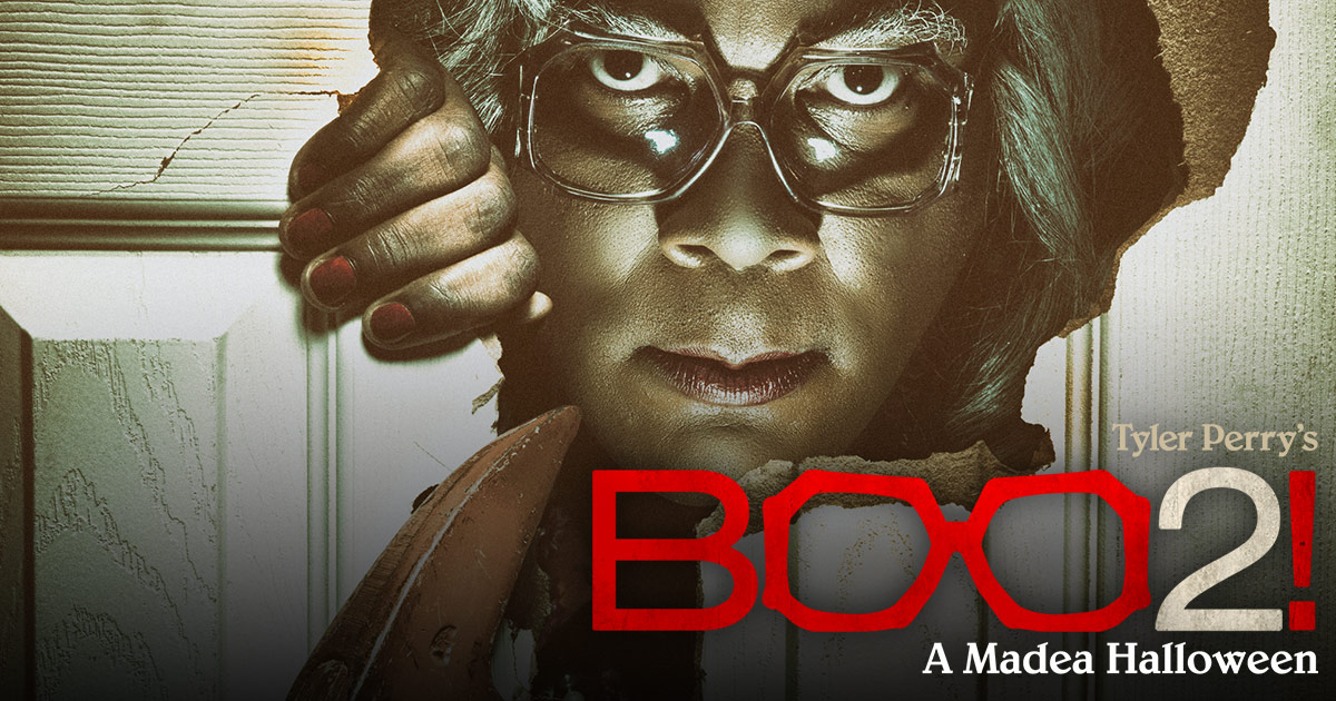 tyler perry made the rounds promoting his new movie tyler perrys boo 2 a madea halloween i sat down with the writerdirectoractor to discuss his new